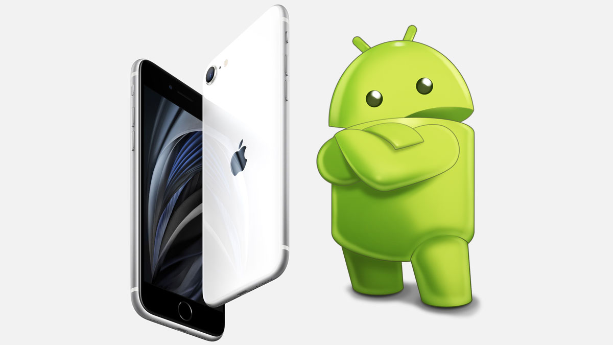Android Alt to iPhone SE 2020