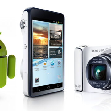 Samsung Galaxy Digital Camera with Android