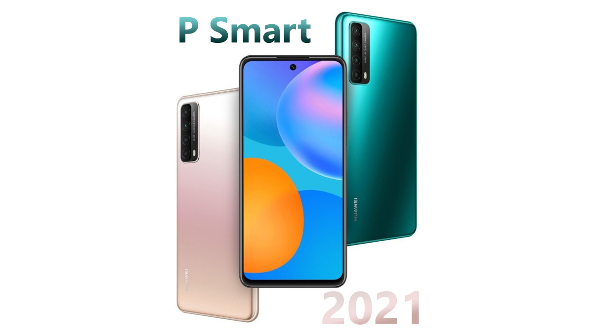 Huawei P Smart 2021 Launch With Kirin 710A
