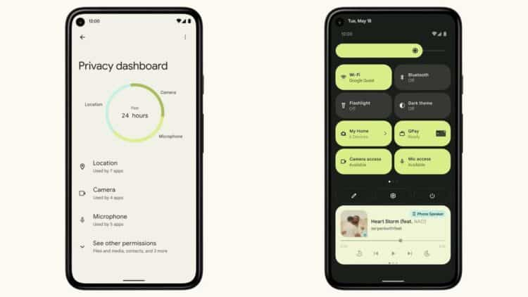 Android 12 Privacy Features